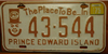 Prince Edward Island Potato Man License Plate