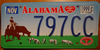 Alabama Cattlemen's Association License Plate