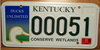 Kentucky Ducks Unlimited License Plate