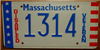 Massachusetts Disabled Veteran License Plate