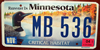 Loon Critical Habitat Minnesota License Plate