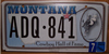 Montana Cowboy Hall Of Fame License Plate