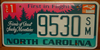 North Carolina Friends of Great Smoky Mountains License Plate