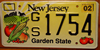 New Jersey Agriculture Vegetables License Plate