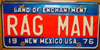 New Mexico Rare Optional Bicentennial License Plate