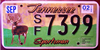 Tennessee Sportsman Deer License Plate